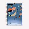 Cuaderno Anillado A5 Rayado Miró Tute