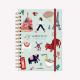 Cuaderno Anillado A5 Wanderlust Viaje, Rayado