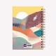 Cuaderno Anillado A5 Punteado De viaje Norte Argentino