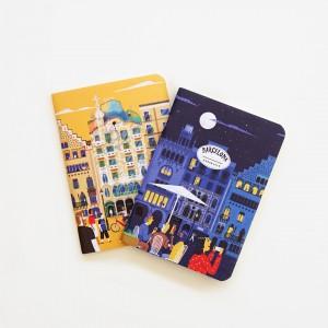 Libreta x 2 De Viaje Barcelona