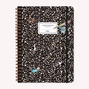 Stitched Notebook A4 Grid Macanudo Composition Book