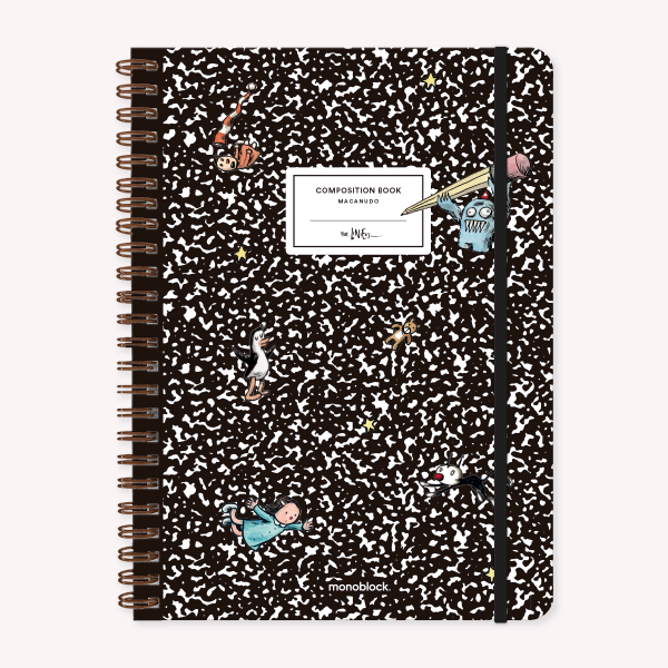 Stitched Notebook A4 Ruled Macanudo Composition Book