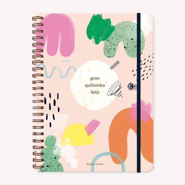 A4 Notebook Macanudo Composition Grid