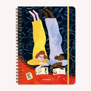 Stitched Notebook A4 Ruled Maria Luque Foujita