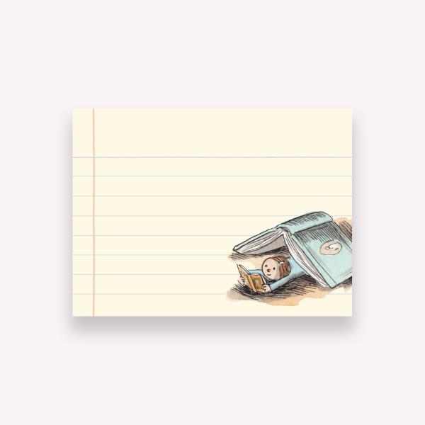 Sticky Notes Macanudo - Enriqueta Leyendo 10x7,4 cm