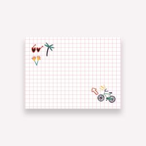 Notas Adhesivas De viaje - Wanderlust 10x7.4 cm