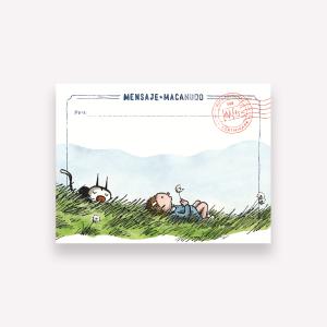 Sticky Notes Macanudo - Enriqueta y Fellini 10x7,4 cm