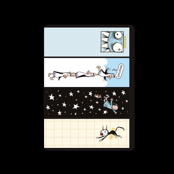 Set x4 Macanudo Sticky Notes