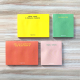 Notas Adhesivas Happimess colorblock - Quilombo 10 x 7,4 cm