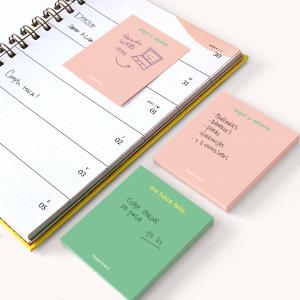 Sticky Notes Happimess colorblock - Me hace Feliz 6,7 x 7,4 cm