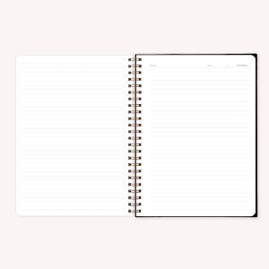 Stitched Notebook A4 Ruled Pepita Sandwich Obra de Arte