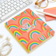 Sé la alegría - Rainbow - Ruled Sewn Notebook