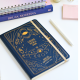 Creer para ver Dotted Sewn Notebook BLUE, Bruja Moderna