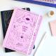 Cuaderno Cosido Mediano Creer para ver ROSA, Bruja Moderna Punteado