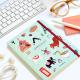 Wanderlust Dotted Sewn Notebook Medium