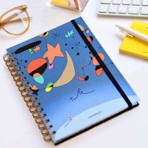 Spiral Notebook A5 Ruled Tute Miró