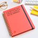 Spiral Notebook A5 Plain Makers Horizonte