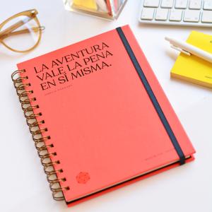 Cuaderno Anillado A5 Horizonte Makers, Lucas Lasnier