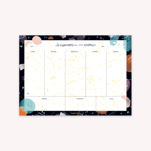 Weekly Planner - Happimess Universo