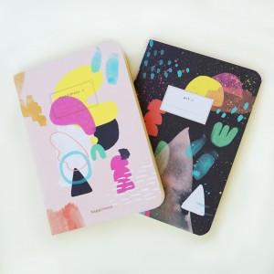 Happimess Fuerza Pocket Notebook x2