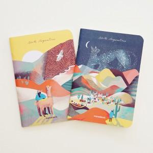 Pocket Notebook Set x 2 De viaje Norte Argentino