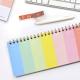 Planificador Semanal Anillado Happimess Color Block 28x12 cm