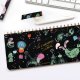 Ringed Weekly Planner - Happimess  Universo 28x12 cm