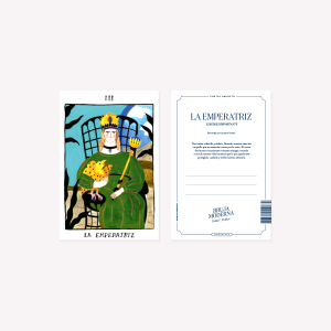 Bruja Moderna La Emperatriz Postcard