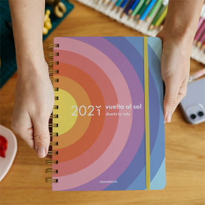 Planner 2021 A5 Vuelta al Sol  -2 days per pages.