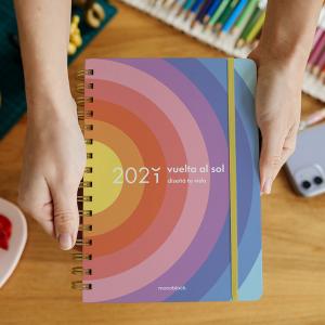 Agenda 2021 A5 Planner Vuelta al Sol - 2 días por pág.