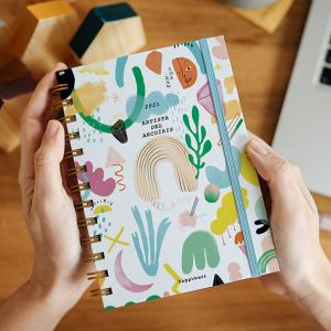 Planner 2021 A5 2 days per pages - Happimess Honrá tu poder