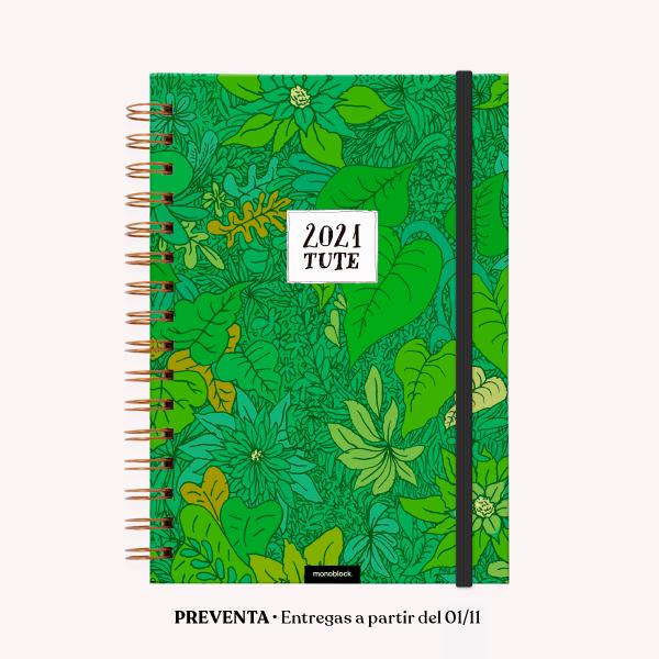 Agenda 2021 A5 2 días por pág - Tute Selva