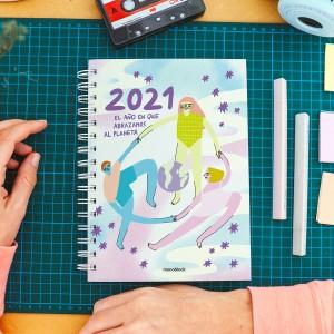 Planner 2021 A5 Pepita Sandwich Buena Onda Open Week