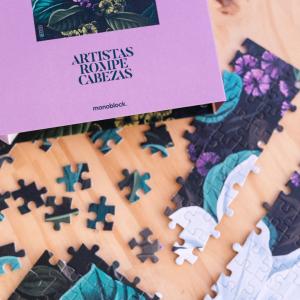 Puzzle Artistas Rompecabezas - Magnolia by Lucilismo