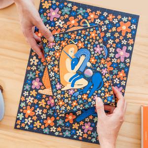 Puzzle Artistas Rompecabezas - Mi unicornio y yo