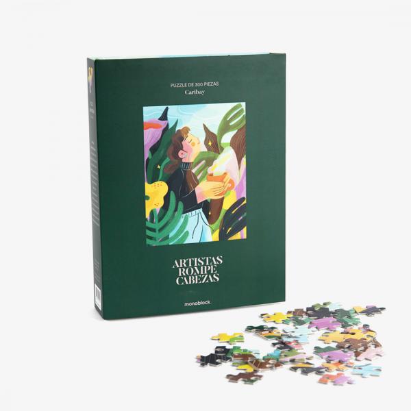 Puzzle Artistas Rompecabezas - Medita By Caribay Marquina