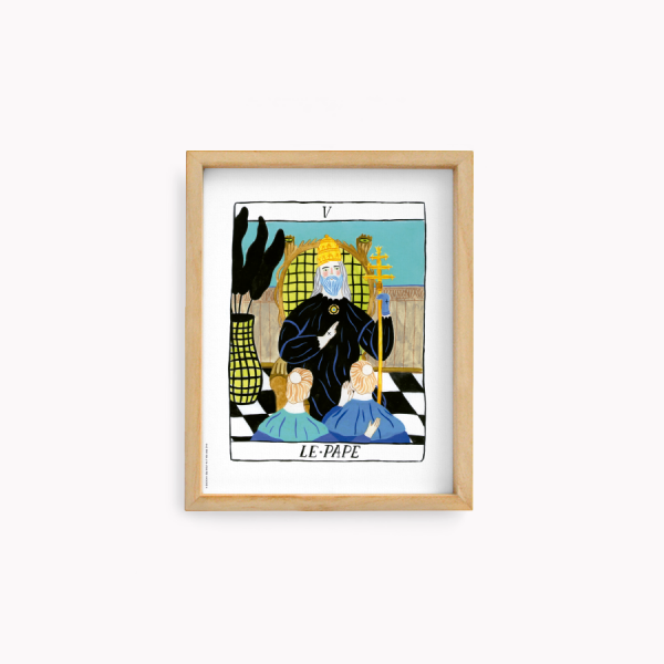 Wall Art Bruja Moderna Jazmin Varela - Le Pape 22x28cm