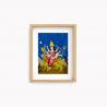 Lamina Bruja Moderna   - Durga 22x28cm