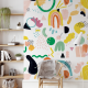 Wallpaper RAINBOW WARRIOR - 106 x 270 cm