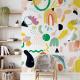 Wallpaper RAINBOW WARRIOR - 106 x 350 cm