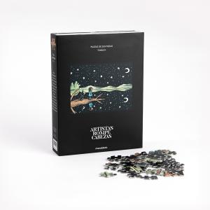 Puzzle Artistas Rompecabezas - Lago en el Cielo