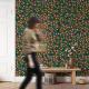 Wallpaper MILLEFLUR 106 x 270 cm