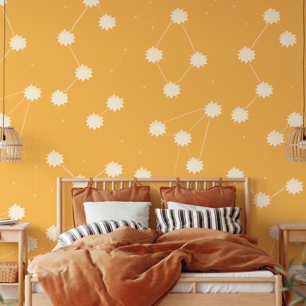 Wallpaper THE SUN Desert Sun - 106 x 350 cm