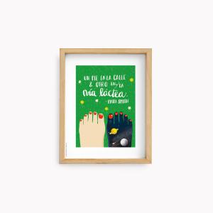 Wall Art Happimess - Patti Smith 22x28cm