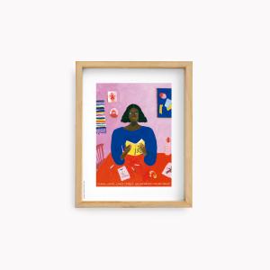 Lámina 22x28cm María Luque - Malevich