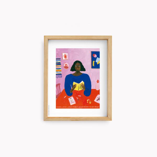 Wall Art María Luque  - Malevich 22x28cm