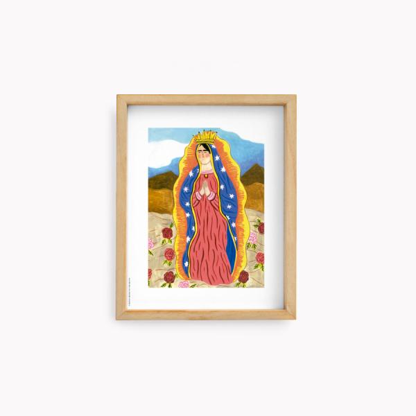 Wall Art Bruja Moderna Jazmin Varela - Lupita 22x28cm