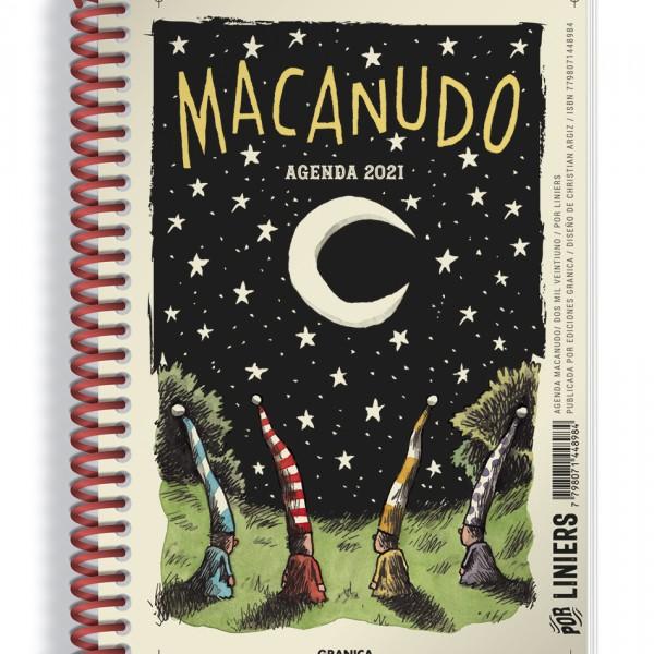 Agenda Macanudo 2021 Anillada Noche Duendes