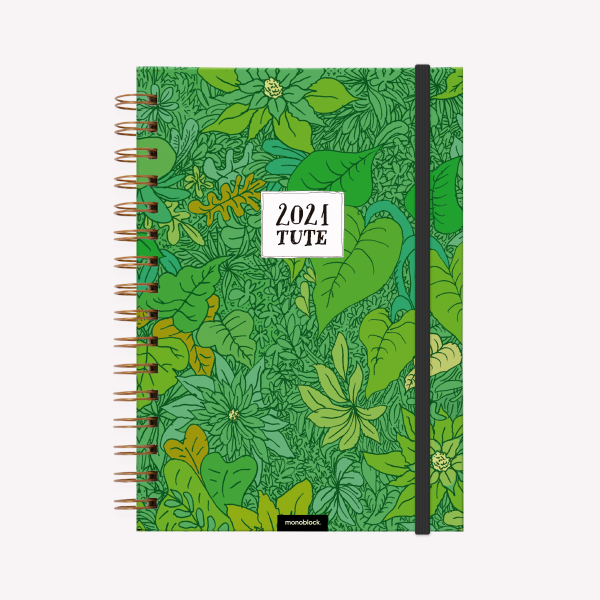 Planner 2021 A5 2 days per pages -  Tute Selva
