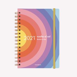 Agenda 2021 A5 2 días por pág - Planner Vuelta al Sol